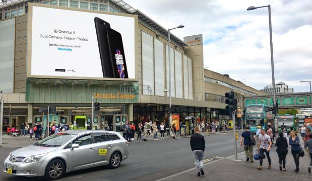 Biggest DOOH screen in the East Midlands goes live | Outsmart